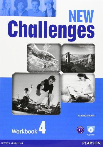 New challenges. Workbook. Per le Scuole superiori. Con CD Audio. Con espansione online: New Challenges 4 Workbook & Audio CD Pack