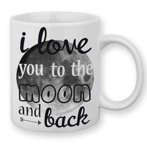 Mug I Love You To The Moon And Back - Fabriqué en France - Chamalow Shop