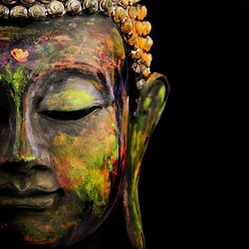 Printelligent Lord Buddha Wall Decor Canvas Art Painting 36 In X 36