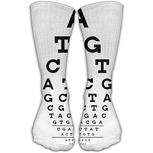 hat pillow Eye Chart LETTER Unisex Cotton Stockings Athletic Casual Compression Socks For Womens & Men