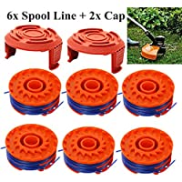 ASHOP For WORX WA0010 Strimmer Line Replacement Spools Nylon Mowing Outdoor Parts