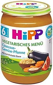 HiPP Couscous-Gemüse-Pfanne, 6er Pack (6 x 190 g)
