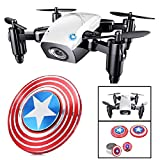 Premsons® RC Drone Mini Selfie Pocket Drone Quadcopter with Camera Live Video Headless