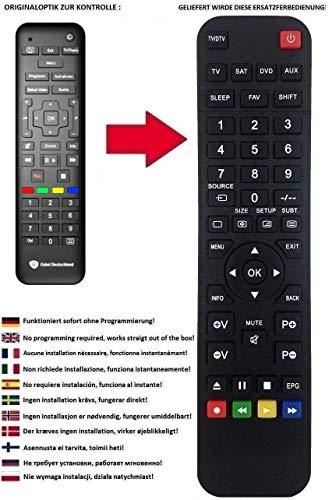 Ersatz Fernbedienung für Sagemcom DCI85 RCI88 1000KD RCI88-320 Kabel Deutschland