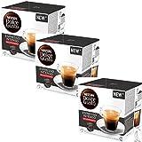 Nescafé Dolce Gusto Espresso INTENSO Decaffeinato Decaf, Pack of 3, 3 x 16 Capsules