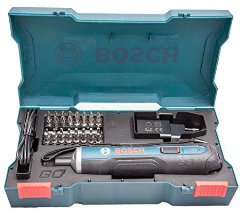 bosch go 36v smart screwdriver set blue 33pieces bit