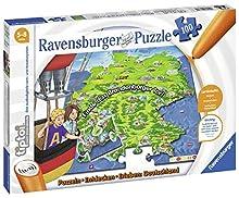 Ravensburger Tiptoi- Ravensburger 00831-tiptoi, Puzzle Germania, Colore Grigio, 00831