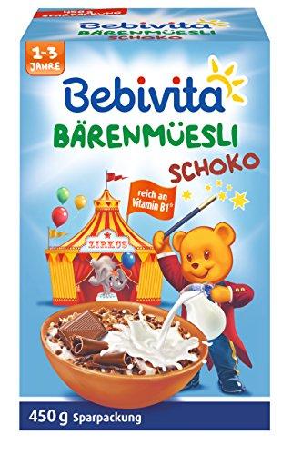 Bebivita Schoko-Müesli, 4er Pack (4 x 450 g)