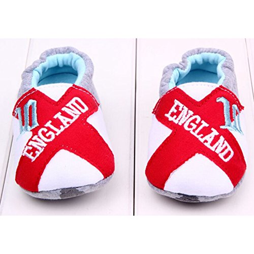 Highdas Baby-Kleinkind-Schuhe - Baumwolle / Anti-Rutsch / Anti-out / Soft Bottom Red X
