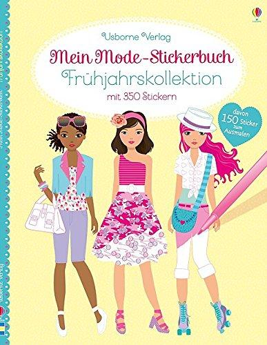 Mein Mode-Stickerbuch: Frühjahrskollektion