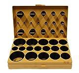 Aerzetix - Confezione di 400 guarnizioni anelli di tenuta O-ring in gomma per raccordi rubinetti idraulici
