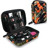 Tizum Cosmetic Organizer Toiletry Travel Kit Travel Organizer (Camouflage Orange)