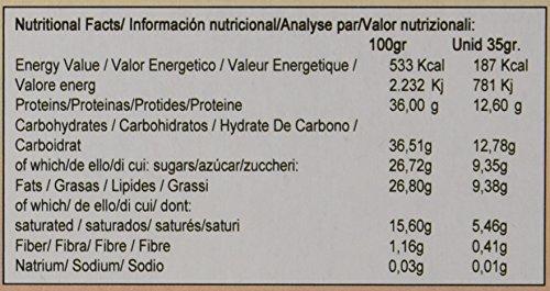 Quamtrax Nutrition Caja Protein Bars, Barritas sabor a chocolate - 32 unidades