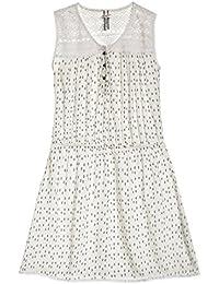 Kaporal Robe Fille Bec Blanc