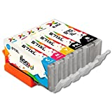Ilooxi 5X Druckerpatrone komp. für Canon PGI-570 XL CLI-571 Tinte Tintenpatrone