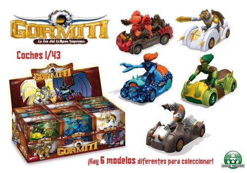 Imagen principal de Giochi Preziosi 53162- Gormiti Serie Tv, Coches 1/43E - Un modelo