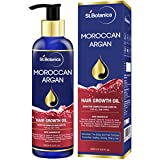 #8: StBotanica Moroccan Argan Hair Growth Oil (With Pure Argan, Jojoba, Almond, Castor, Olive, Avocado, Rosemary Oils), 200ml