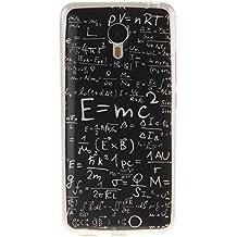 Meizu M2 Note Carcasa, KATUMO® Funda de Piel Silicona Gel Carcasa Goma para Meizu M2 Note Funda Dura Protectora Transparent Cubierta-Fórmula