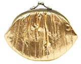 Becksöndergaard Geldbörse Damen Leder Gold Metallisch Glänzend - Portemonnaie Granny Daffodil...