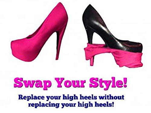 Evana Heel Swap Change Heel Design Without Changing Heels (Pink)