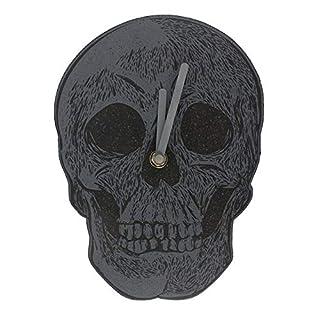 Attitude Clothing Skull Clock