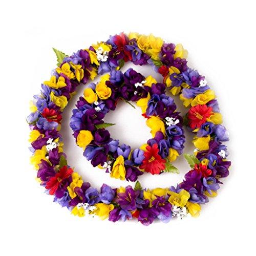 Tinksky-Favorece-la-fiesta-Luau-Hawai-flor-guirnalda-collar-diadema-casco-conjunto-para-regalo-de-fiesta-Luau-fiesta-para-las-mujeres