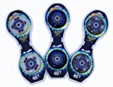 Streetsurfing Ersatzrollen Original Light Up Wheels 2 LED Waveboard, Neon-Blue, 500194