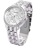 Cosmic Analogue Silver Dial Women'S Watc...