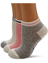 Original Penguin Women's Lshpe411 Socks, Pink (Coral), One Size (Manufacturer Size: 4 to 8) pack of 3