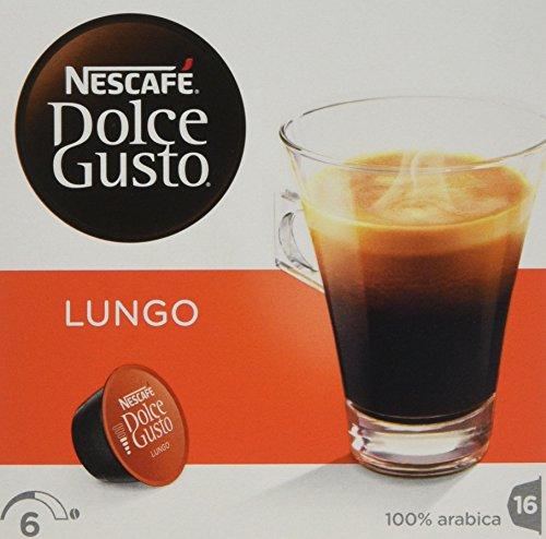A photograph of Nescafé Dolce Gusto Lungo