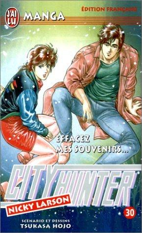 City Hunter (Nicky Larson), tome 30 : Effacez mes souvenirs ! par Hojo Tsukasa