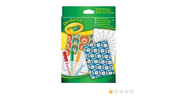 Crayola Wonder On The Go Colouring Kit 16.25 x 12.44 x 2.54 cm Multi