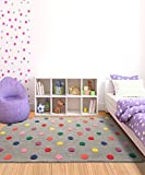 #5: Littlelooms Candy Polka Rug 4 X 6 (Feet)