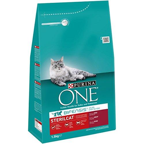 One Sterilcat Katzenfutter Rind, 1,5 kg -