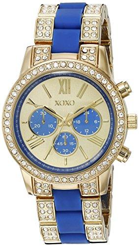 XOXO Damen Quarz Analog Uhr mit Legierung Armband XO5908 - Watchs Xoxo Frauen