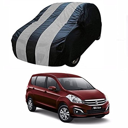 MotRoX Dual Tone Car Body Cover For Maruti Suzuki Ertiga (Navy Blue and Grey with side Mirror Pockets)  available at amazon for Rs.1114