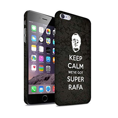 Offiziell Newcastle United FC Hülle / Matte Snap-On Case für Apple iPhone 6+/Plus 5.5 / Pack 8pcs Muster / NUFC Rafa Benítez Kollektion Ruhig Bleiben