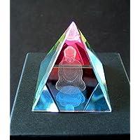 Multicolor Laser Kristall Pyramide Briefbeschwerer 4cm Buddha Pyramid durch geben Viel Glück Home Dekoration... preisvergleich bei billige-tabletten.eu