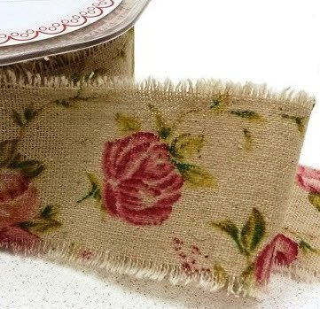 3m-vintage-inspired-rose-print-burlap-ribbon-with-frayed-edge-50mm-wide