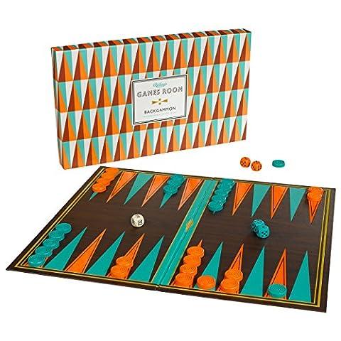 Spiele Raum Backgammon Spiel (Retro Backgammon)