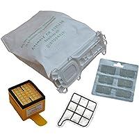12 Staubsaugerbeutel, 5 lagig, aus hochwertigem Premium - Microvlies, für Allergiker geeignet, 1 Hygienefilter 1 Motorschutzfilter 12 x Duft passend für Vorwerk - Kobold 135 / 136 / 135SC / VK135 / VK136 / FP135 / FP136 / FP135 SC