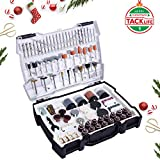 """Rotary Tool Accessories Kit 282pcs Tacklife ARTO2C 1/8""""(3.2mm) Diameter Shanks Universal Fitment Cutting, Grinding, Sanding, Sharpening, Carving and Polishing Tools"""