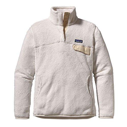 Patagonia W 'S re-tool snap-t P/O, Sweatjacke S weiß (raw linen white x-dye) (Shirt Patagonia White)