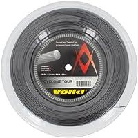 Volkl Cyclone Tour 16G carrete cuerda para raqueta de tenis, color gris antracita