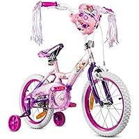 TUJHGF Bicicleta para Niños Niña 12/14/16/20 Pulgadas Princesa Bicicleta De