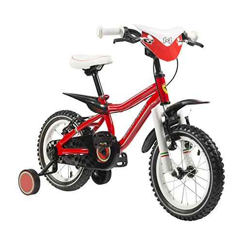 Scuderia Ferrari Bicicletta Kid Racing 14 Rosso