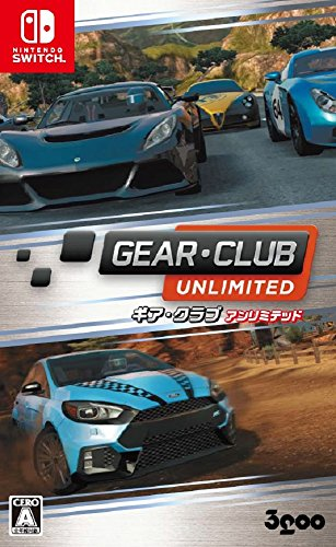 3goo Gear Club Unlimited NINTENDO SWITCH JAPANESE IMPORT REGION FREE 51VbmKsn0zL