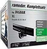 Rameder Komplettsatz, Anhängerkupplung abnehmbar + 13pol Elektrik für Jaguar XE (138511-13223-1)