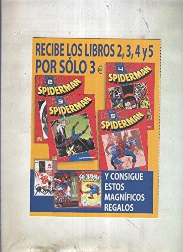 Coleccionable Spiderman numero 0, propaganda de la obra