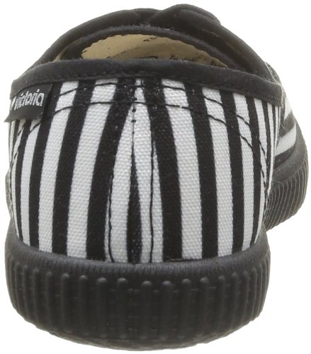 Victoria  Inglesa Estamp  Geometrico,  Sneaker donna Nero (Noir (Negro))